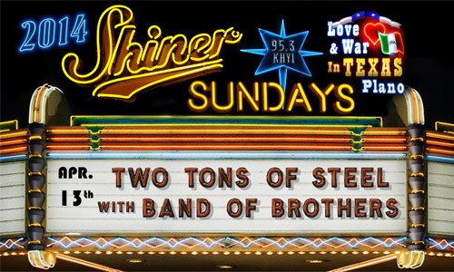 2014 SHINER SUNDAYS - 4-13-14 500x300