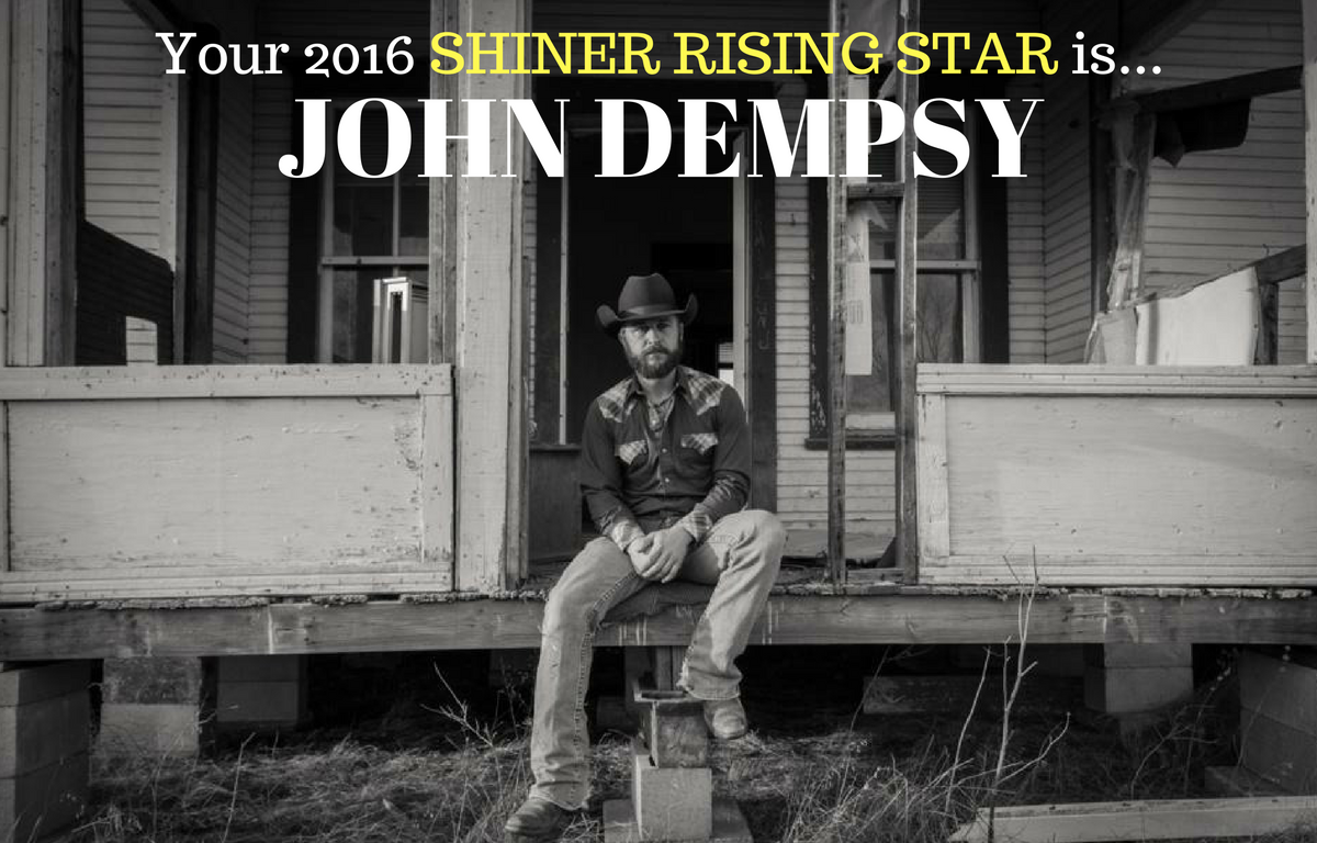 John Dempsy is your Shiner Rising Star!