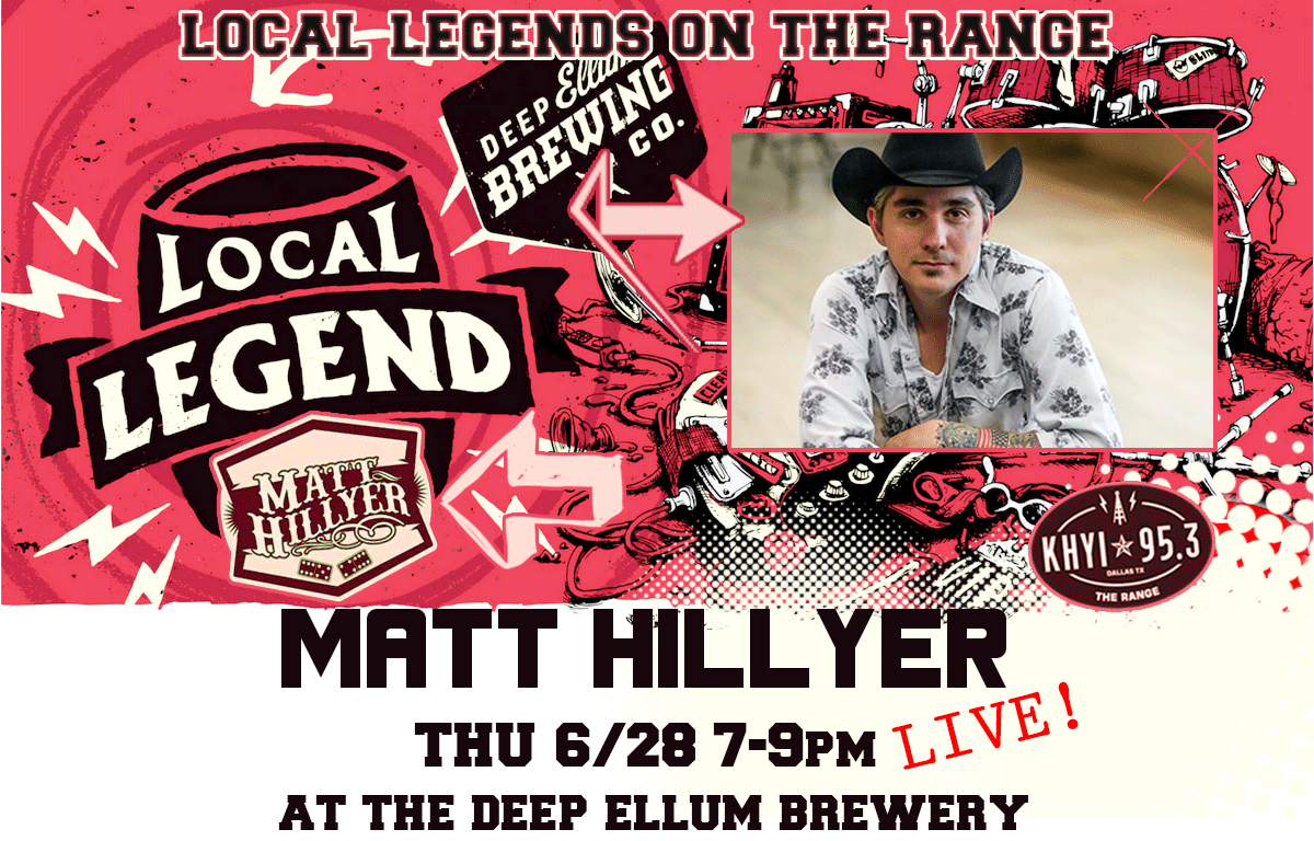 Local Legends on the Range Continues with Matt Hillyer!